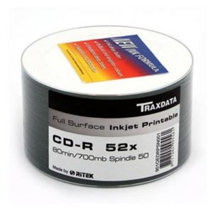 CD-R Traxdata Print Spindle ,komad