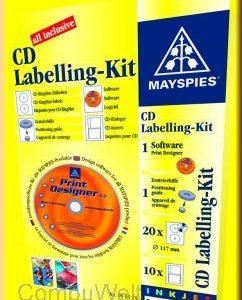 Papir Mayspies naljepnica za CD-kričava ,komad