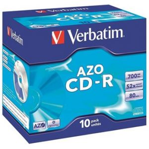 CD-R Verbatim Crystal Jewel box ,komad