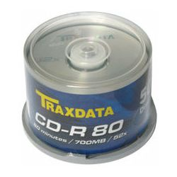 CD-R Traxdata Tisak Spindle ,komad
