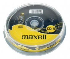 CD-R Maxell Tisak Spindle ,komad