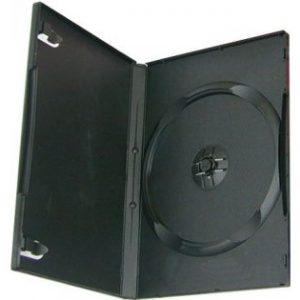 Kutija DVD crna slim