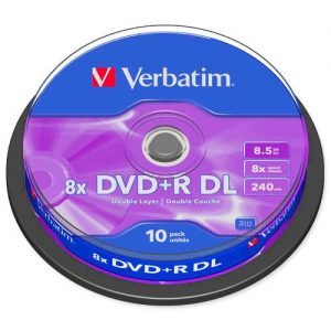 DVD R DL Verbatim 8x, spindle ,komad