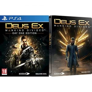 Deus Ex: Mankind Divided Steelbook PS4