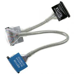 Kabel ICIDU IDE kabel okrugli 40p 0,6m, 3 konektora ATA 133