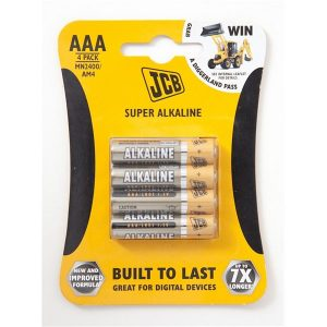 Baterija JCB SUPER ALKALINE AAA, LR03 1,5V 1 komad