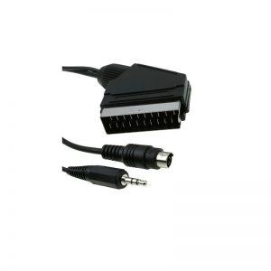 Kabel ICIDU SCART kabel video/audio, 5m, S-Video 3,5mm-Scart