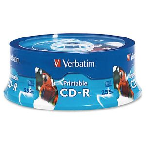 CD-R Verbatim Print Spindle ,komad