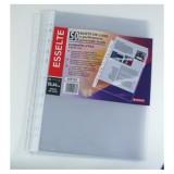 Fascikla A4 PVC uložna sjajna Esselte 50/1, 60 mikrona