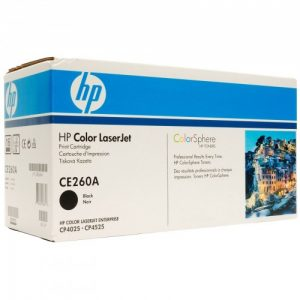 Cartridge Z HP laser CE260A Bk
