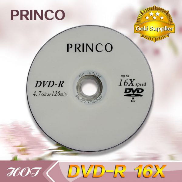 DVD-R Princo 16x tisak spindle , komad