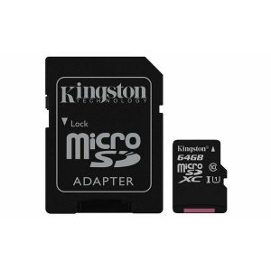Memori kartica Kingston Micro SD UHS-I 64GB 1ad, class 10