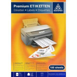 Papir Mayspies naljepnica 105x148,5 Weatherproof (090264) ,komad