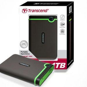 Hard disk Transcend 1TB,StoreJet 25M3, EXTERNI, USB 3.0
