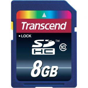 Memori kartica Transcend Micro SD HC 8GB 1ad, class 10