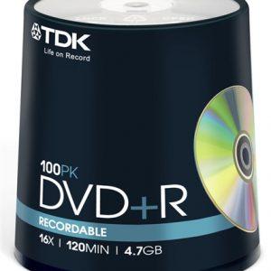 DVD R TDK tisak spindle 16x ,komad