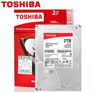 Hard disk Toshiba P300 2TB, 64MB, 7200rpm