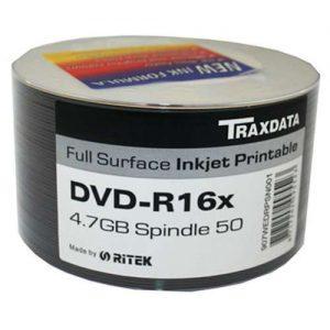 DVD-R Traxdata 16x Print Spindle ,komad