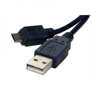 Kabel Roline USB A-B Micro kabel 0,8m, AM- micro B 5pin M