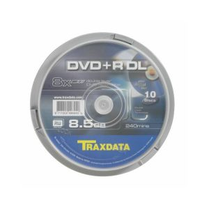 DVD R DL Traxdata 8x spindle printable ,komad