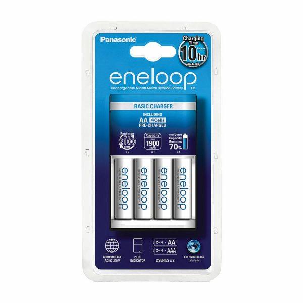 Punjač baterija ENELOOP BASIC, 4xAA