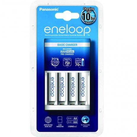 Punjač baterija ENELOOP BASIC, 4xAAA