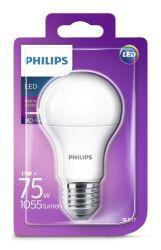 Žarulja LED Philips E27, A60 topla 11W mutna