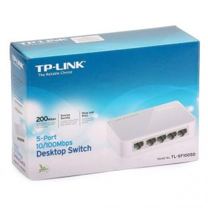 Switch TP-Link 5port 10/100M TL-SF1005D