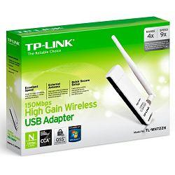 Mrežna kartica TP-Link TL-WN722N bežična USB s antenom
